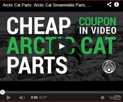 Cheap Arctic Cat Parts Coupon Video