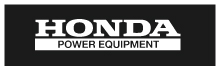 OEM Honda Power Equipment Parts