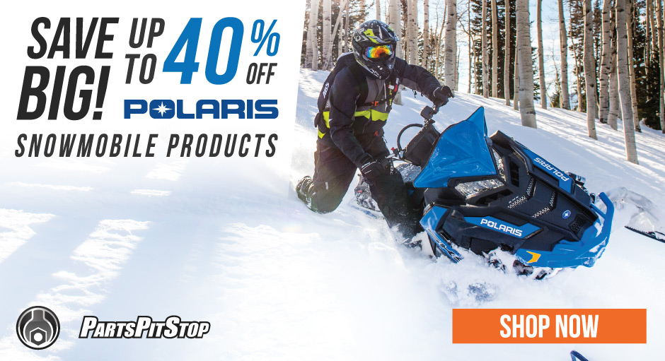 Save Big on Polaris Snowmobile Parts and Accessories