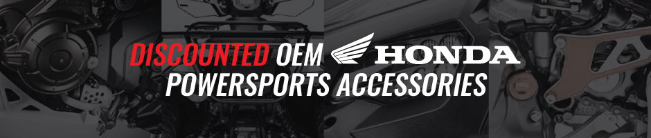 discounted oem honda powersports accessories