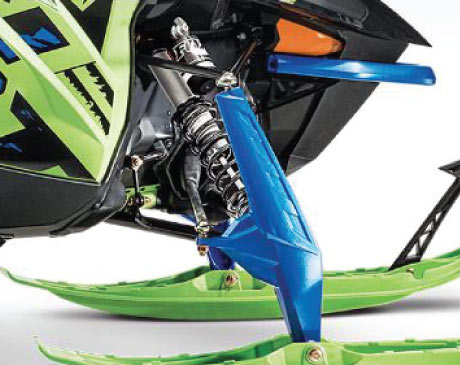 2020 Arctic Cat Riot Snowmobile AMS Front Suspension