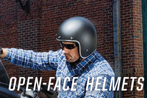 discount open face powersports helmets