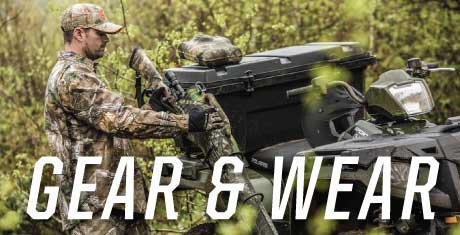 Polaris OEM Accessories, Gear, and Apparel